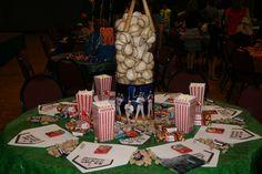 baseball banquet table