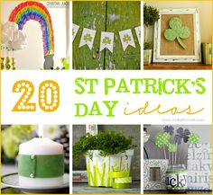 20 DIY St. Patrick's Decor Ideas --- Make It and Love It