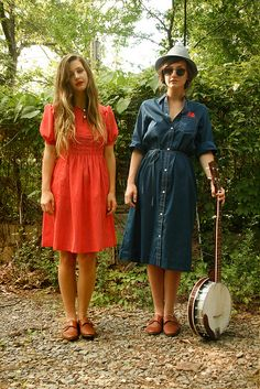 vintage dresses- the one on the right