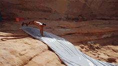 Cliff Slip N' Slide…