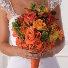 Fall Wedding Bouquets