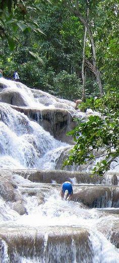 Dunns River Falls ~ Ochos Rios Jamaica