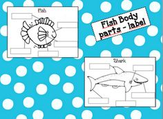 Fishy Labeling Freebie