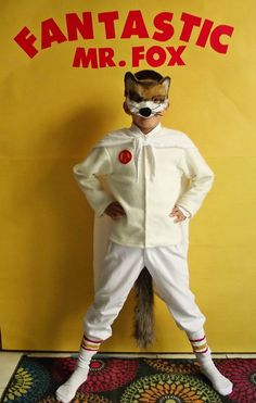 DIY Fantastic Mr. Fox Costume #kids #halloween