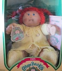 My cabbage patch doll has a 102 on head