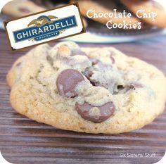 Six Sisters' Stuff: Ghirardelli Chocolate Chip Cookies Recipe