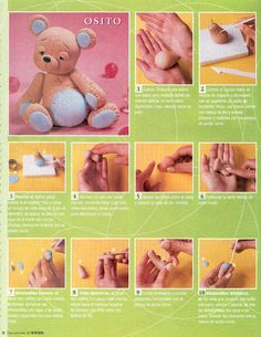 STEP BY STEP BEAR PART N°1.