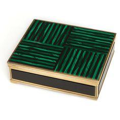 Malachite and onyx box. A cool 25k
