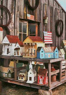 Prim Birdhouses...