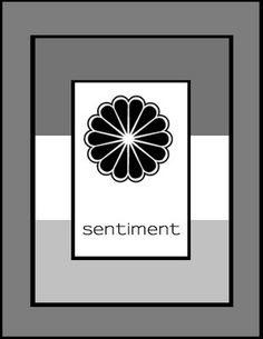 clean & simple stamping card