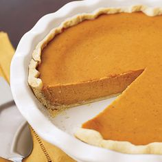 When making our irresistibly tasty Pumpkin Cheesecake Pie, try this easy way to transfer the pastry dough from the countertop to the pie plate: Loosely roll half of pastry round over rolling pin, then center pin over pie plate and let dough roll off the pin onto the plate.