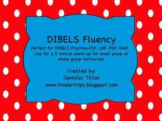 Use this to practice First Sound Fluency, Letter Naming Fluency, Phonemic Segmentation Fluency, and Nonsense Word Fluency. There are 10 lists for e...