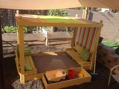Sand Box | Do It Yourself Home Projects from Ana White