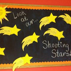 Put student name on tail and have students write a 3rd grade goal on star.
