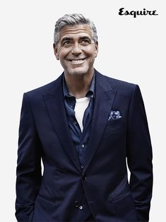 Clooney in Armani...