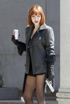 Coke lite and a pistol. Perfect undercover accessories.