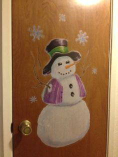 Our wall decals allow you to decorate any surface for the holidays. Boring door no more! ^nk