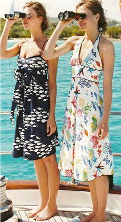 Summer dresses and binoculars