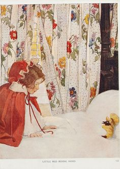 "Jessie Willcox Smith, from ""The Now-A-Days Fairy Book"" (1922) by sofi01, via Flickr"