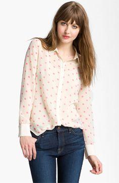 Hinge® Print Chiffon Shirt | Nordstrom t.b.d $58.90