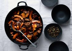 Pork and Squash Stew with Chiles - Bon Appétit