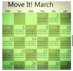 March challenge