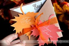 Free printable FALL card- how darling is THIS?!
