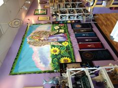 Putnam, Brewster inside Synchronicity. Shopping and Healing Center.
