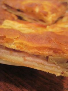 Easy Smoked Turkey, Cheese and Mushroom Puff Pastry « Moore or Less Cooking