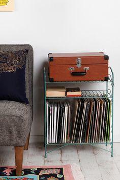 Record Storage Shelf  #UrbanOutfitters