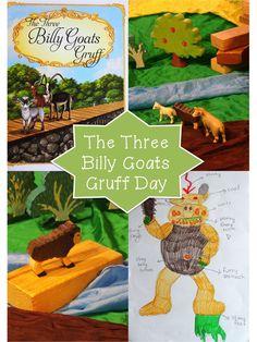 The Three Billy Goats Gruff Day