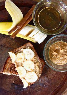 PB Banana Honey Sammie from Feast on the Cheap