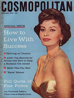 1958 Cosmopolitan cover