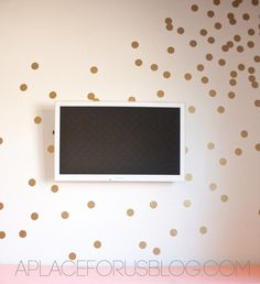DIY Confetti Wall