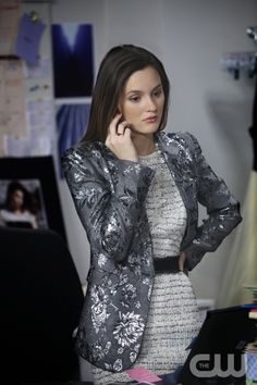"""""""While You Weren't Sleeping"""" -- Pictured Leighton Meester as Blair Waldorf  in GOSSIP GIRL on THE CW. PHOTO CREDIT: Eric Liebowitz©2010 The CW Network, LLC. All Rights Reserved"""
