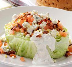 Morton's Steakhouse Copycat Recipes: Wedge Salad
