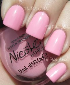 Up & Kim-ing Pink- Nicole by OPI Wel-Kim To My World Collection (Kardashian Kollection)