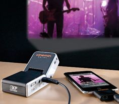 Pico Projector for iPod $279 product, ipods, stuff, techi, mini projector, gadget, projectors, pico projector, thing