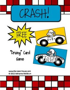 CRASH! Fun card game freebie! www.the-tutor-house.com