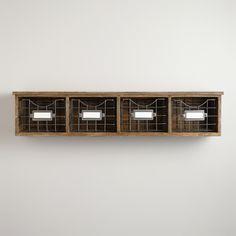 Owen Wood Wire Wall Unit | World Market- entryway