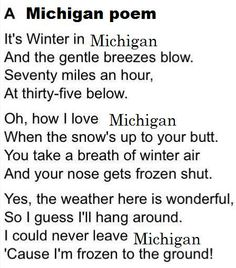 Pure Michigan...LOL
