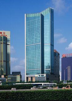 Pudong Shangri-La Hotel in Shanghai by Kohn Pedersen Fox Associates