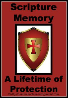 Scripture Memory: Providing A Lifetime of Protection from #Homeschool Encouragement #scripturememory #biblememory