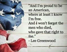 Proud to be an America