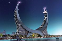 """With an architectural design inspired by the insignia of Qatar, the Lusail Marina Iconic Development's spectacular architecture is set to become a leading hospitality landmark,"" Hamad Abdulla Al Mulla, CEO of Katara Hospitality"