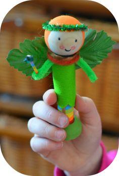 Twig and Toadstool: DIY Spring Fairies