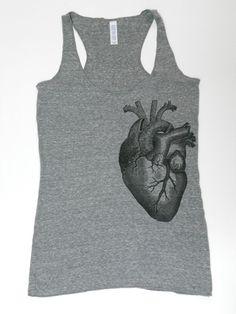 anatomical heart tank, $25