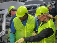 Martha Stewart Touring American Made sponsor @Toyota's plant in Georgetown, KY.