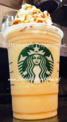 Butterscotch Frappuccino for your sweet tooth? Recipe here: http://starbuckssecretmenu.net/starbucks-secret-menu-butterscotch-frappuccino/