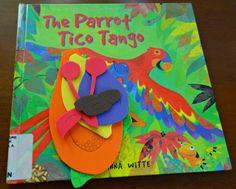 Parrot Tico Tango Book-Based Activity - Alldonemonkey.com